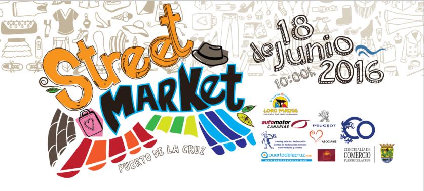 Street Market tomará las calles de Puerto de la Cruz