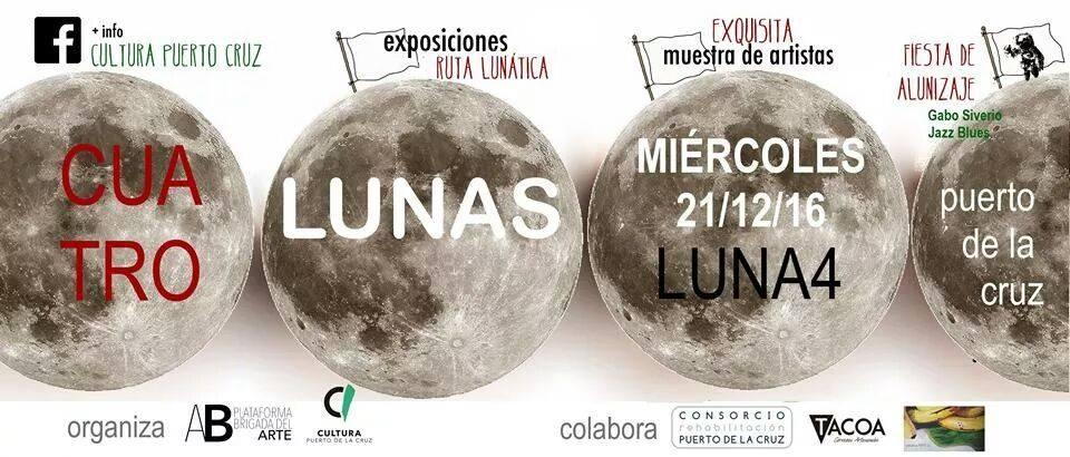 La Cuarta Luna comienza su recorrido hoy en el Puerto de la Cruz