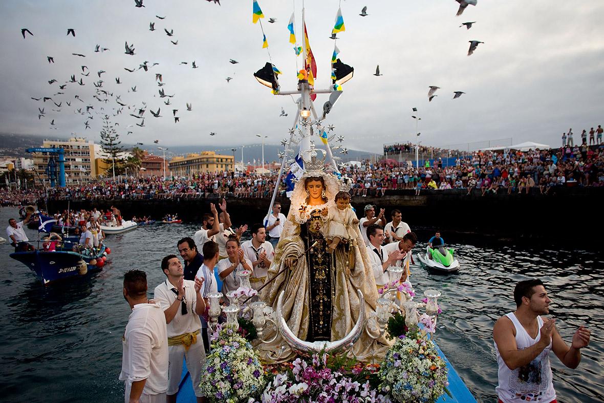 Fiestas y actividades culturales en el Puerto de la Cruz