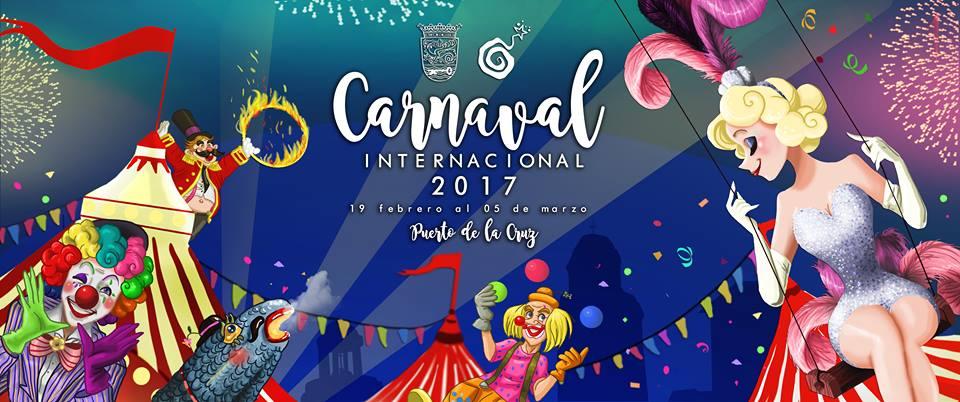 Programación del Carnaval Internacional del Puerto de la Cruz 2017