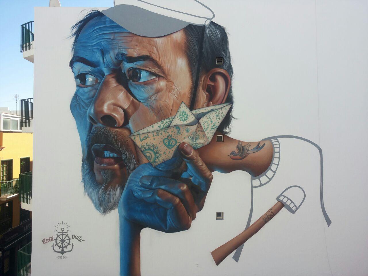 El arte urbano nuevo atractivo turístico del Puerto de la Cruz